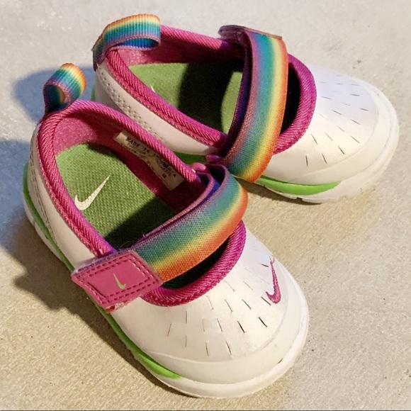 Nike Shoes | Rainbow Pride Baby Girl